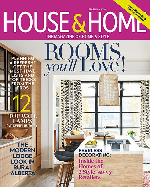 Nyla Free Designs, House and Home feature, country house