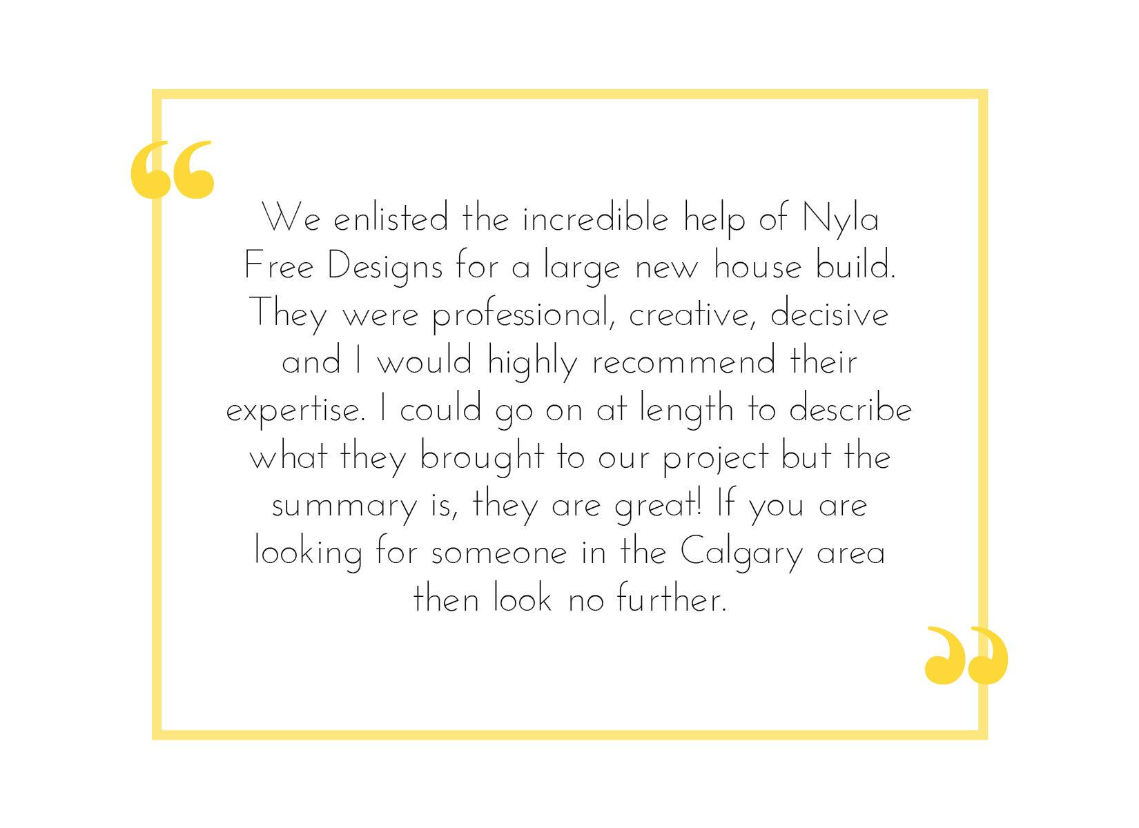 Nyla Free Designs, Accolades, Kirker