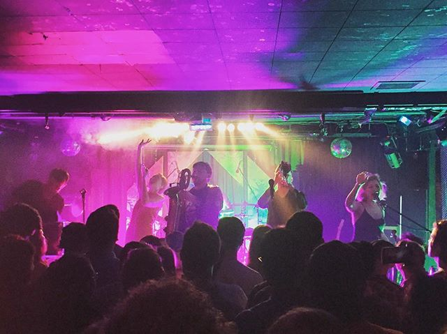 Great night with San Fermin. 📸: @tatertotstagram . . . . . #SanFermin #TimbreConcerts #BiltmoreCabaret #Biltmore #DailyHiveVan #VancouverIsAwesome #VancouverConcerts