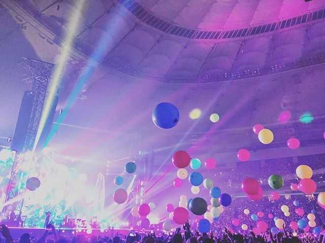 @coldplay putting on a hell of a show back in September. 📸: @tatertotstagram. . . . . #ColdplayVancouver #Coldplay #BCPlace #concerts #vancouver