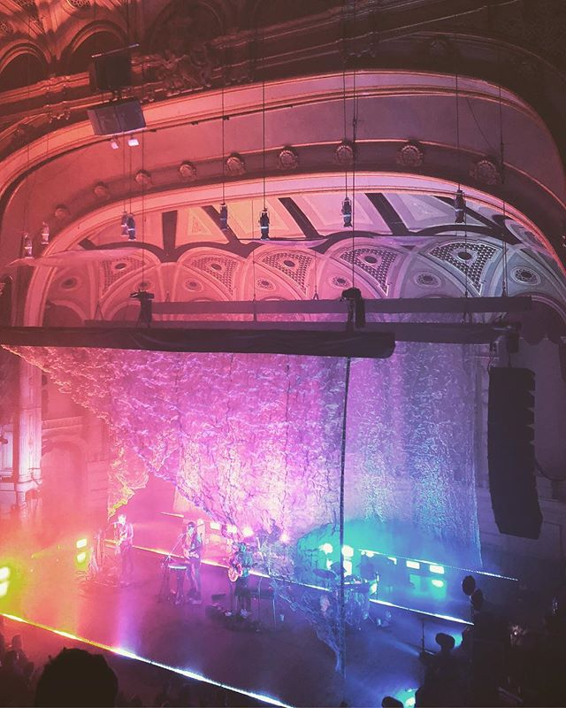 Grizzly Bear last night at The Orpheum. 📷: @tatertotstagram. . . . . #livemusic #concerts #livemusicphotography #vancouver #dailyhivevan #vancouverisawesome #yvr #georgiastraight