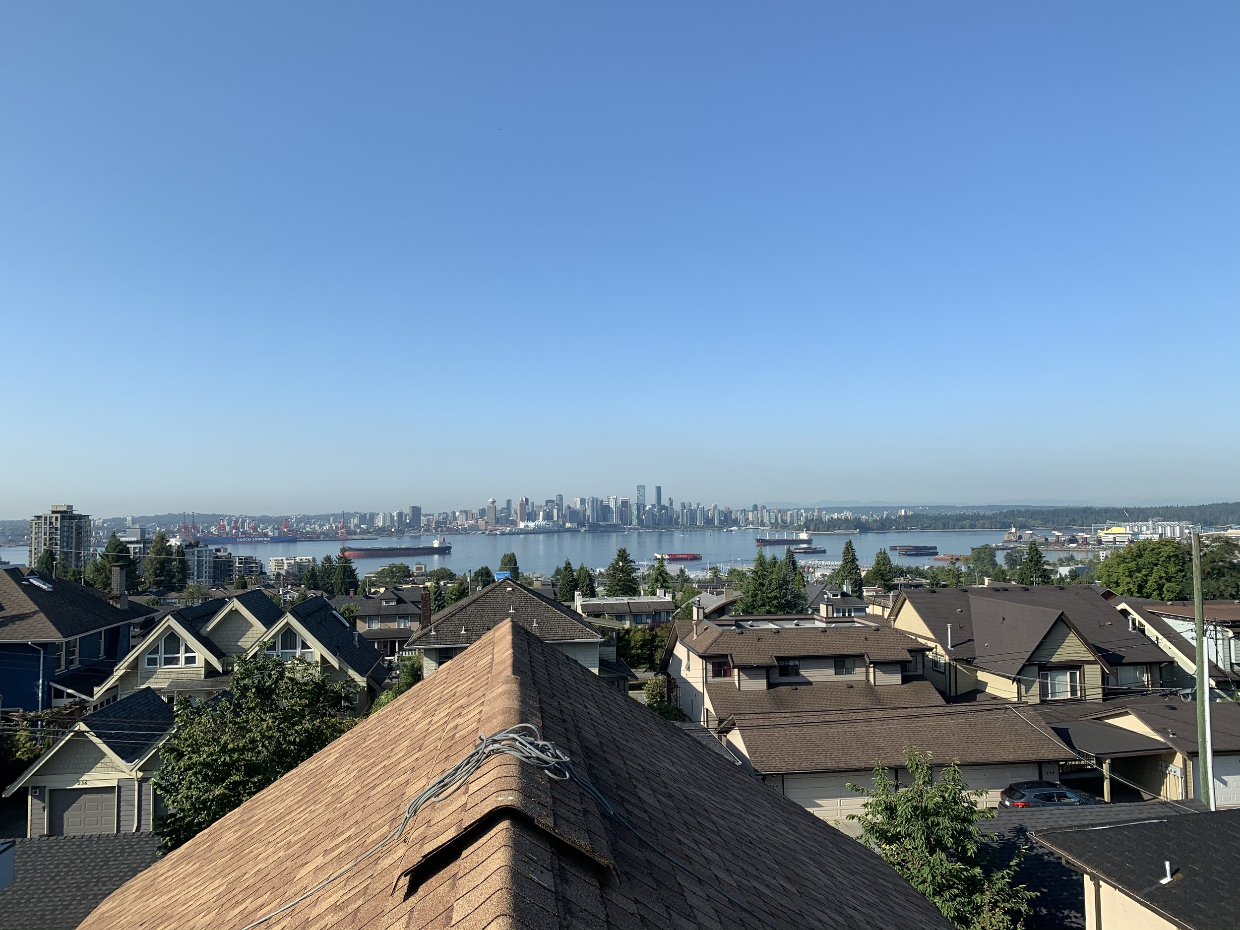 The wonderful rooftop views from the North Shore