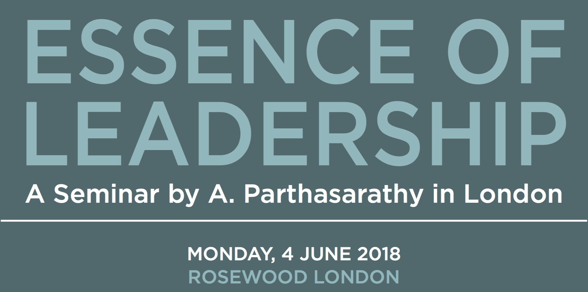 Copy of JUNE 4: ESSENCE OF LEADERSHIP SEMINAR