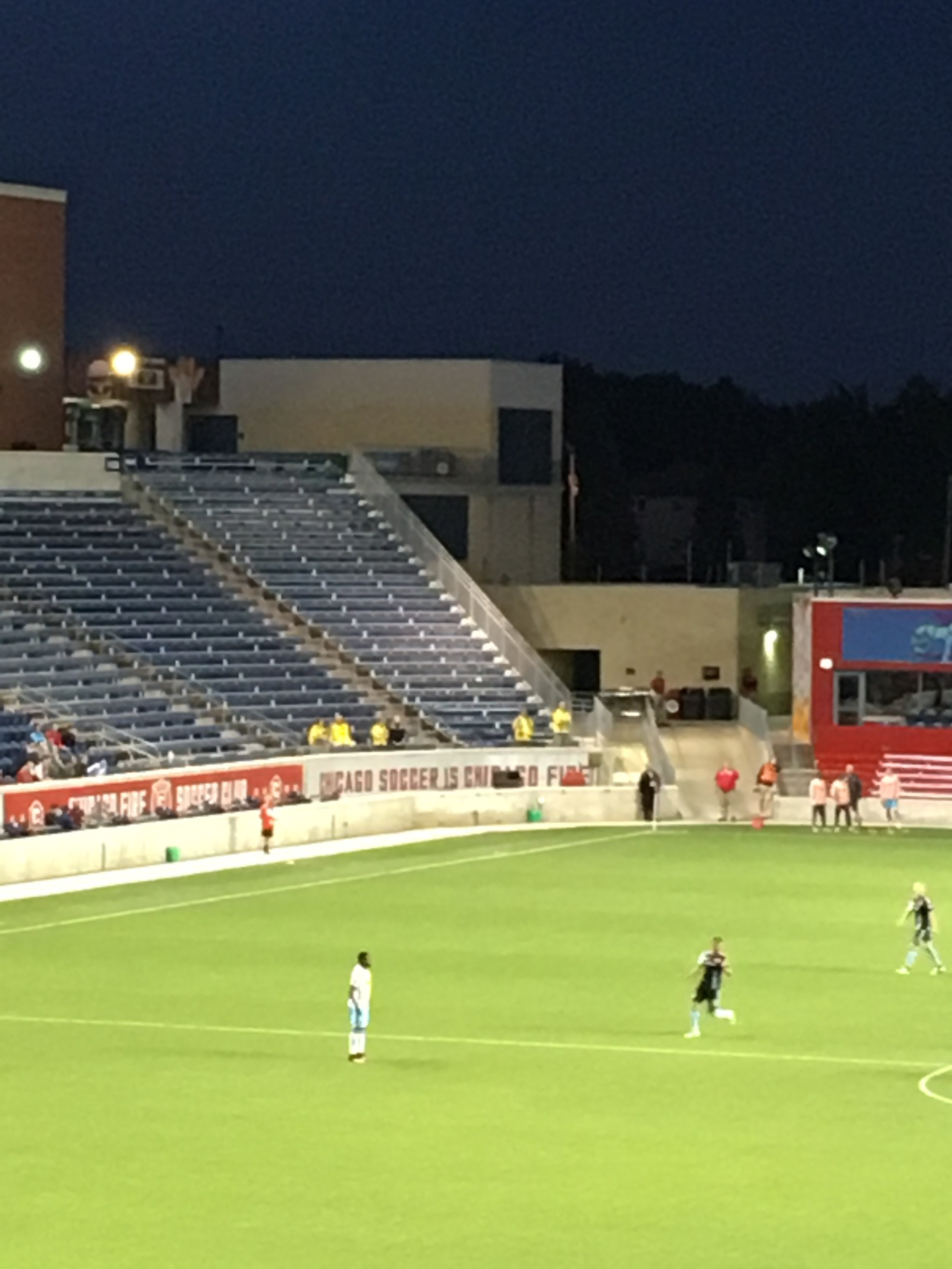 A handful of Columbus fans set to go home empty handed.