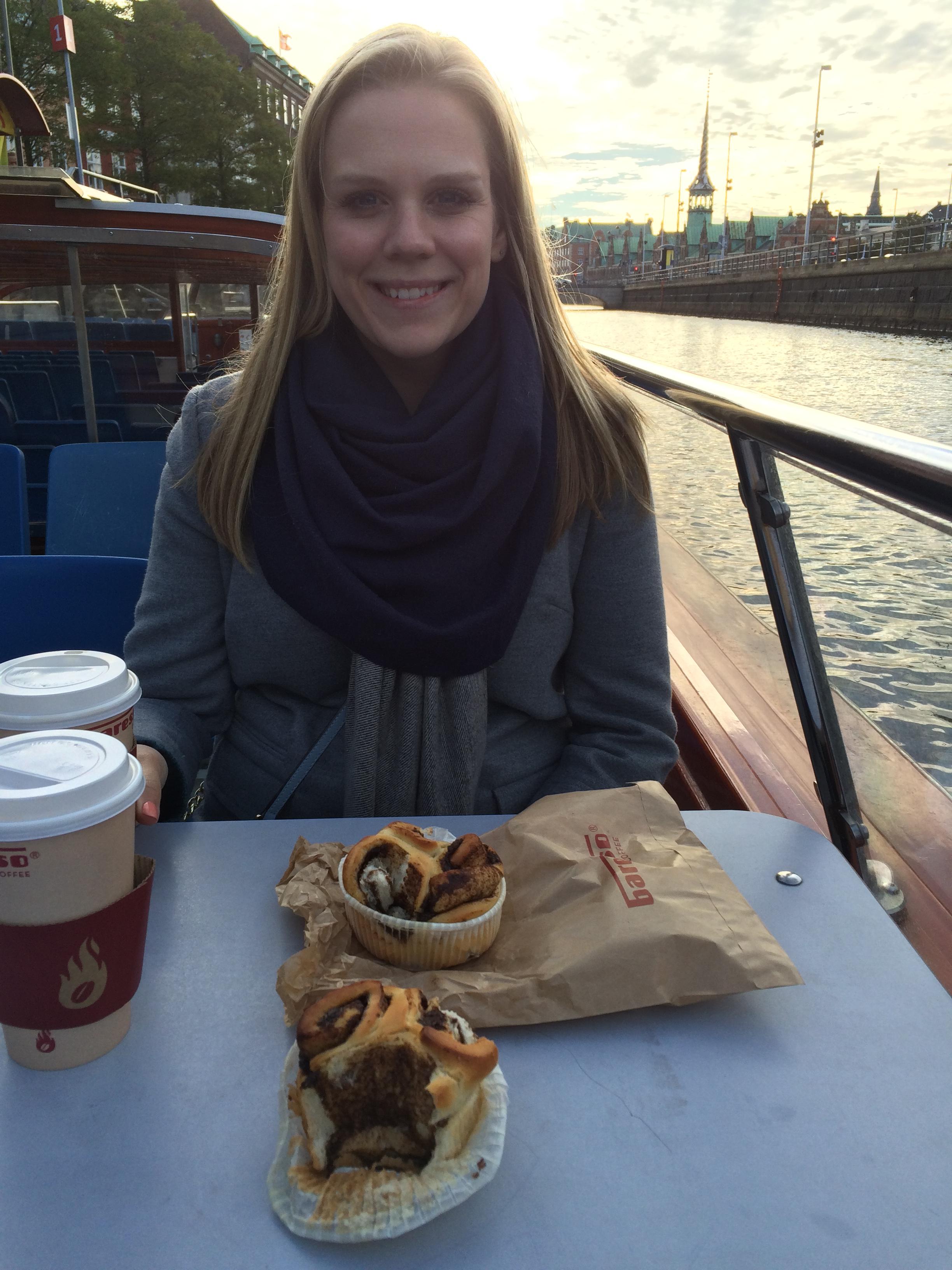 Breakfast on the boat