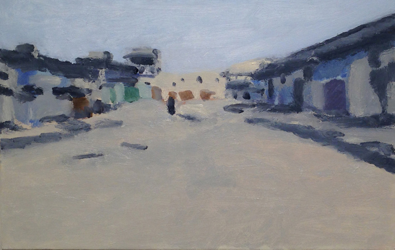 untitled (Fallujah) , 2014 oil on canvas 30 x 22 inches