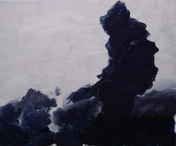 holy smoke 2 ,2014 oil on canvas 20 X 24 inches