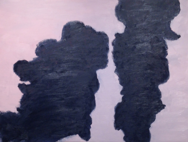 holy smoke 3 ,2014 oil on canvas 36 x 48 inches