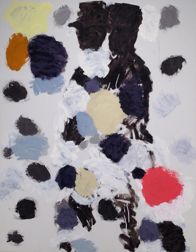 hasidic tunes ,2013 oil on canvas  38 x 30 inches
