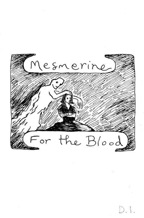 "mesmerine, 2009 ink on paper 5 5/8 x 3 3/4 """