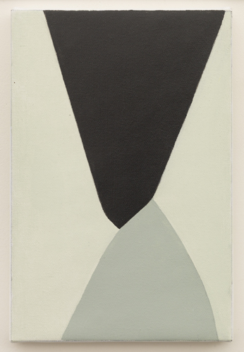 Untitled  (LK16.001), 2013 acrylic on canvas 11 3/4 x 7 7/8 inches
