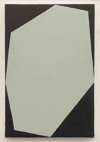 Untitled  (LK16.002), 2013 acrylic on canvas 11 3/4 x 7 7/8 inches