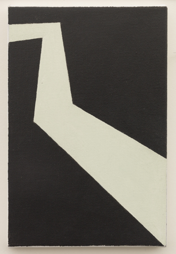 Untitled (LK16.004), 2013 acrylic on canvas 11 3/4 x 7 7/8 inches