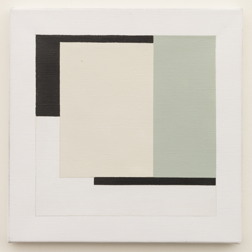 Untitled  (LK16.005), 2014 acrylic on canvas 11 3/4 x 11 3/4 inches