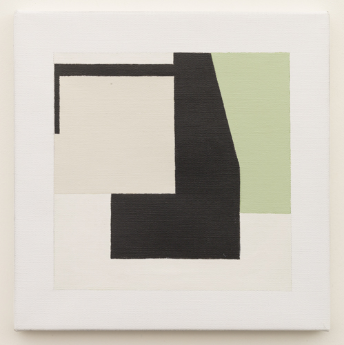 Untitled  (LK16.007), 2014 acrylic on canvas 11 3/4 x 11 3/4 inches