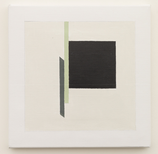 Untitled  (LK16.012), 2014 acrylic on canvas 11 3/4 x 11 3/4 inches