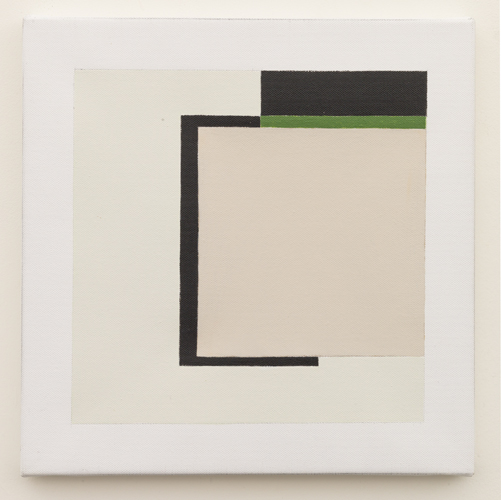 Untitled (LK16.019), 2014 acrylic on canvas 11 3/4 x 11 3/4 inches