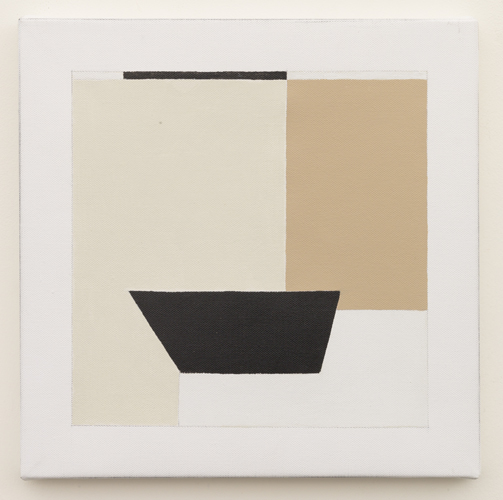 Untitled (LK16.021), 2014 acrylic on canvas 11 3/4 x 11 3/4 inches