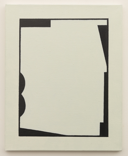 Untitled  (LK16.022), 2014 acrylic on canvas 15 3/4 x 19 3/4 inches