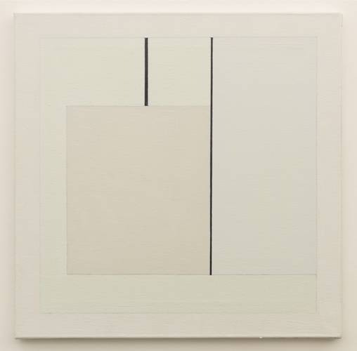 Untitled  (LK16.032), 2014 acrylic on canvas 19 3/4 x 19 3/4 inches