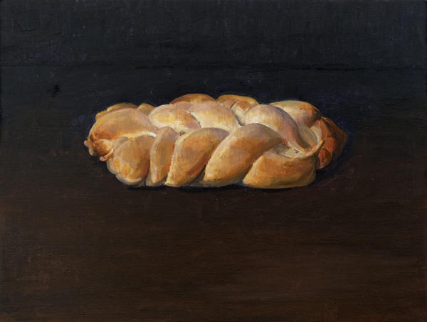 challah , 2013 oil on linen 18 x 24 inches
