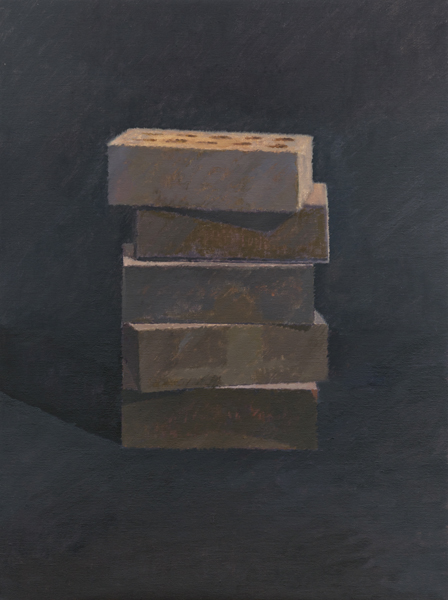 stack , 2013 oil on linen 24 x 18 inches