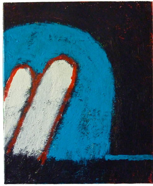 #01994 , 2011 acrylic on canvas 17 x 14 inches