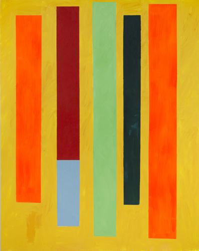 """carousel ,2014 oil on canvas 77 x 61"""""""