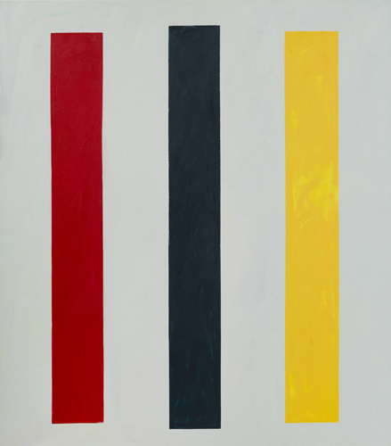 """three soldiers ,2015 oil on canvas 70 x 61"""""""