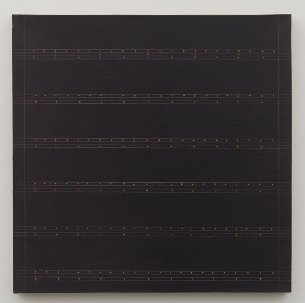 Untitled (pdn280) , 1974 oil on linen 24 x 24""