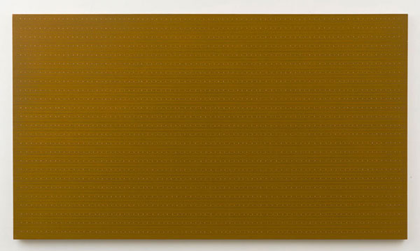 Untitled (pdn69) , 1975 oil on linen 48 x 84""