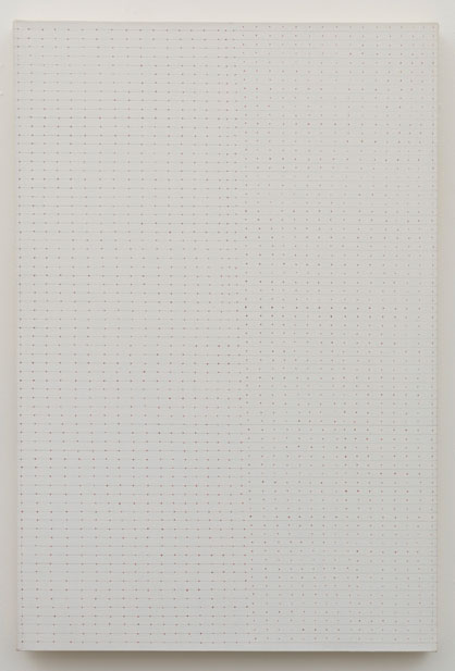 Untitled (pdn343) , 1971-72 acrylic and graphite on canvas 36 x 24.5""