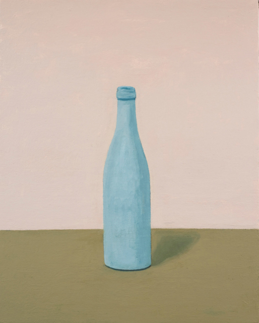 grey bottle , 2010 oil on canvas 20 x 16 inches
