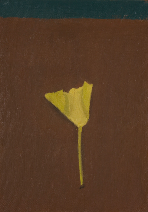 autumn miniature , 2009 oil on canvas 7 x 5 inches
