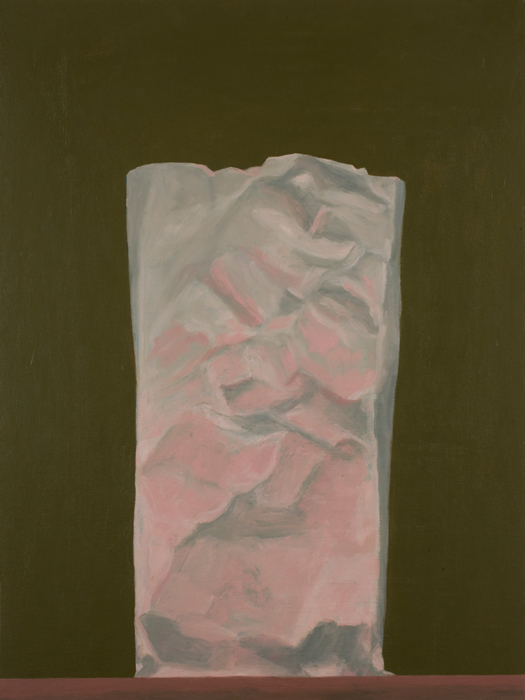 pink bag , 2008 oil on canvas 18 x 24 inches