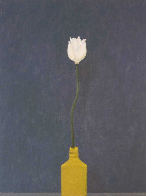 tomb flower , 1998 oil on canvas 24 x 18 inches