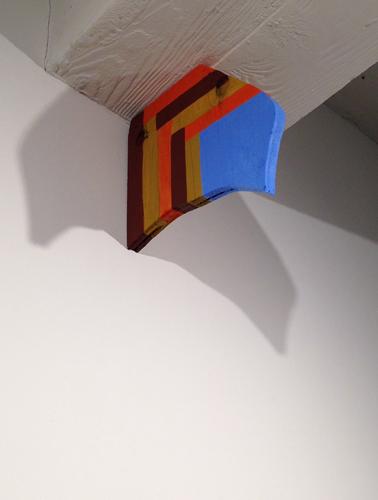 """drip, 2013 acrylic on wood 8.25 x 1 x 9"""""""