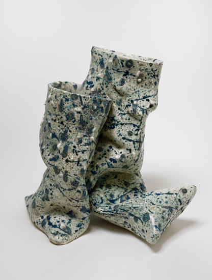 Dyad (14) , 2012 glazed ceramics 9.5 x 10 x 7.5 inches