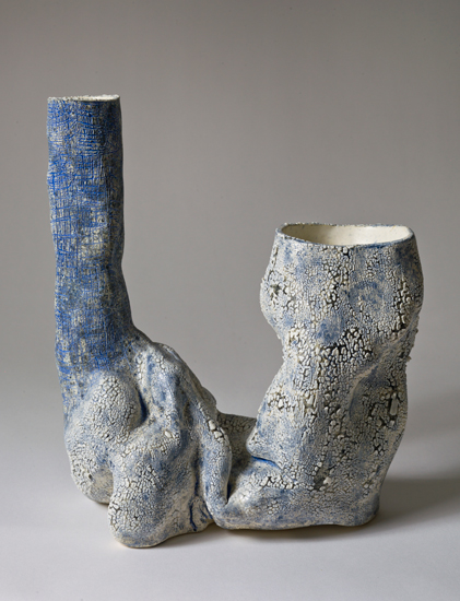 Dyad (12) , 2012 glazed ceramics 12 x 10 x 5.5 inches