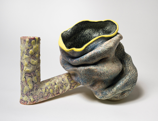 Armwrest , 2011 glazed ceramics 6 x 5 x 8.5 inches