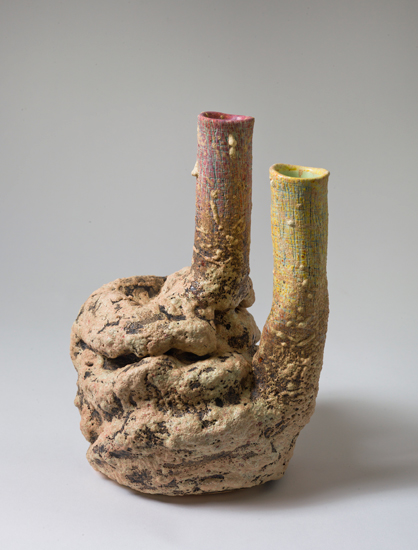 Dyad (6) , 2012 glazed ceramics 10.5 x 7 x 8 inches