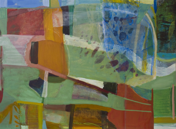 """boots ,2013 oil on canvas 32 x 44"""""""
