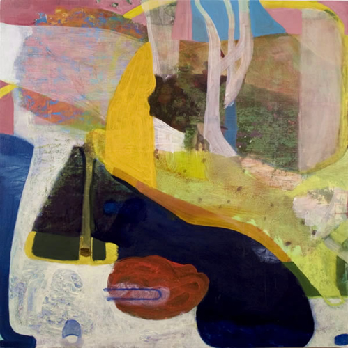 "new season ,2012 oil on canvas 24 x 24"""