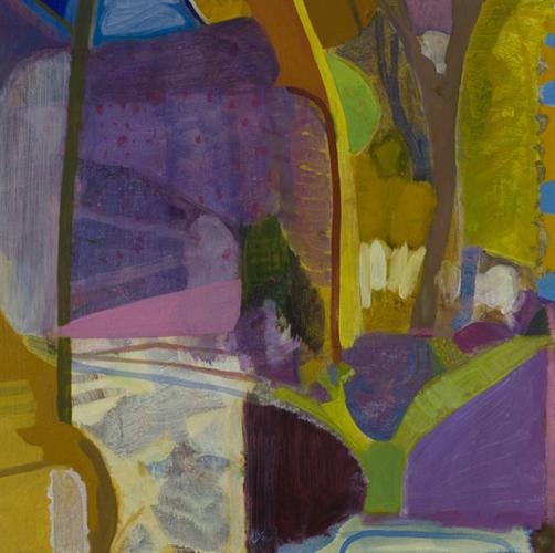 "on a platter ,2013 oil on canvas on panel 24 x 24"""