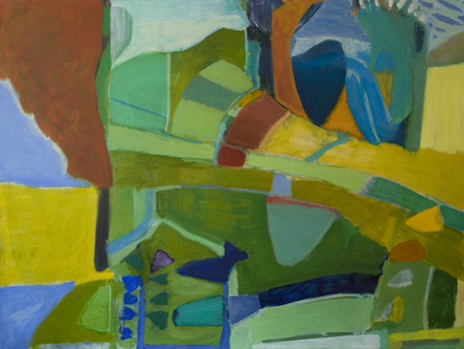 """second nature ,2013 oil on canvas 54 x 72"""""""