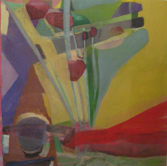 """big sky ,2010 oil on canvas on panel 24 x 24"""""""