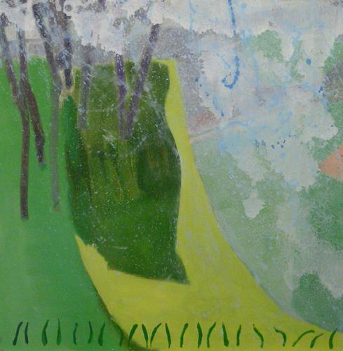 "strange brew ,2010 oil on canvas on panel 24 x 24"""