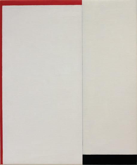 "Untitled ,2012 acrylic on canvas 24"" x 19 ¾"""
