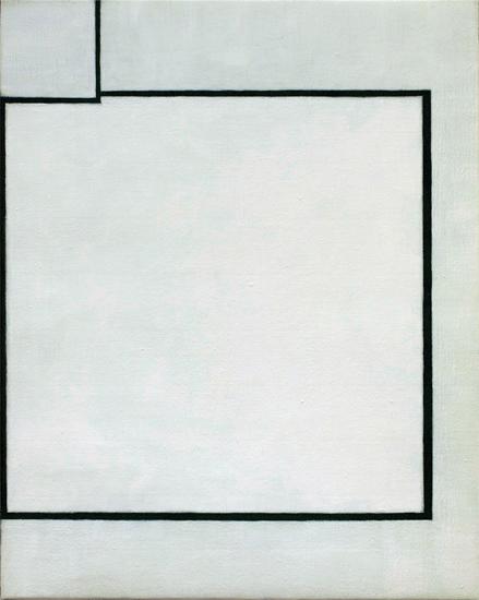 "Untitled ,2011 acrylic on canvas 19 ¾"" x 15 ¾"""