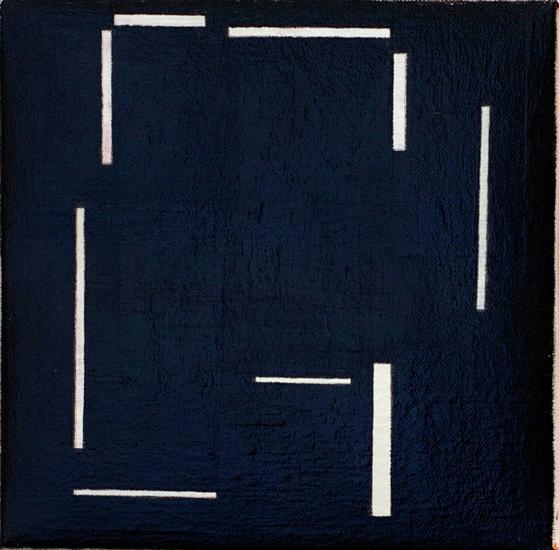"Untitled ,2011 acrylic on canvas 8"" x 8"""